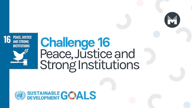 Challenge 16: Peace, Justice and Strong Institutions