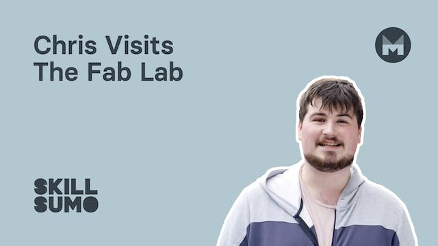 Chris visits the Fab Lab