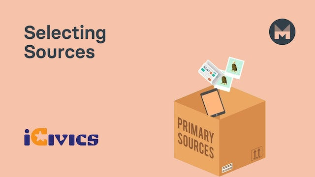 05. Selecting Sources