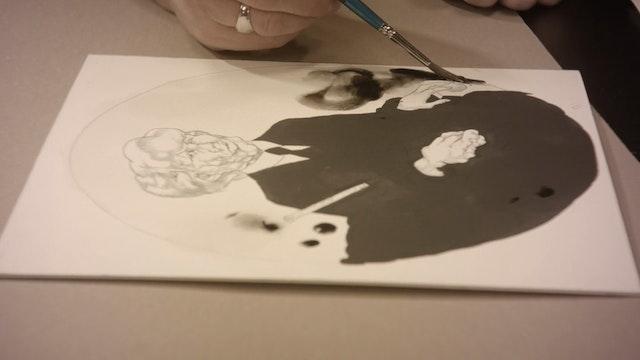 Making It / Extra - Black & White Illustration Demo