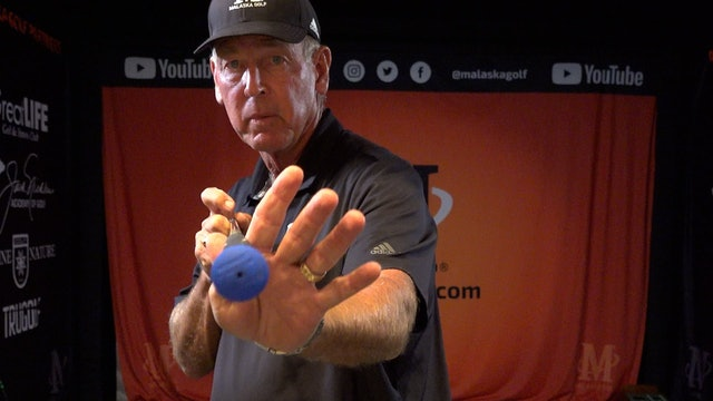 USE A TRIGGER FINGER TO GRIP YOUR CLUB