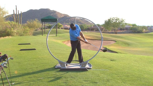 THE GOLF SWING IS A CIRCLE