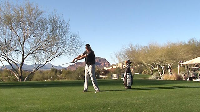 TOO LONG IN THE BACKSWING