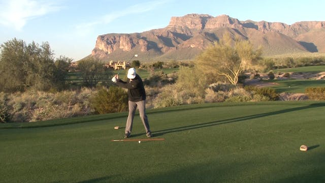 THE BACKSWING AND STALLING SHOULDERS