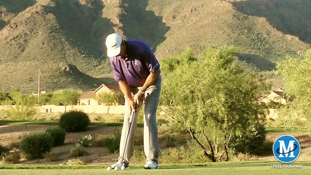 CHIPPING IS OFF-GREEN PUTTING