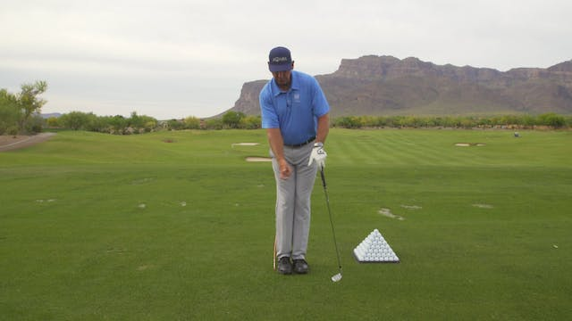 DOES HITTING BALLS WITH YOUR FEET TOG...