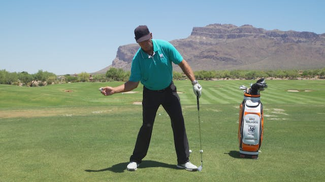 IS THE GOLF SWING LIKE THROWING A BAS...