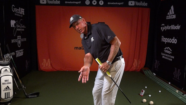 HOW JACK NICKLAUS SETS UP AS A LEFT EYE DOMINANT PLAYER