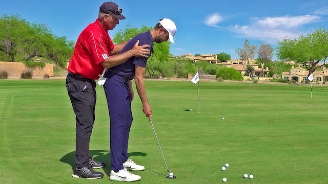 PUTT WITHOUT YOUR HIPS