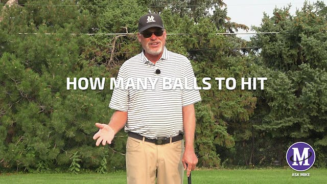 HOW MANY BALLS TO HIT