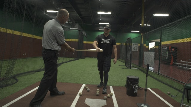HITTING WITH COACH NATE REYES