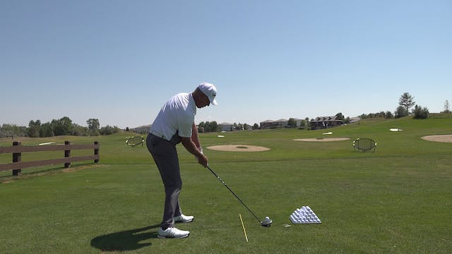 DOES IT HELP TO START WITH SMALL SWINGS