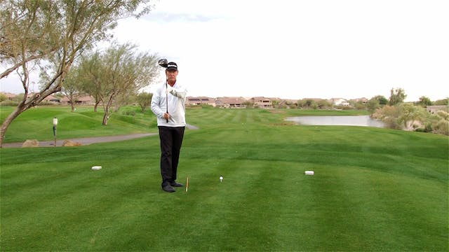DOES THE CLUBHEAD POINT UP