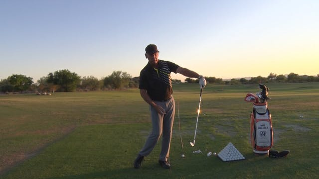BOWING OF THE LEAD WRIST AT IMPACT
