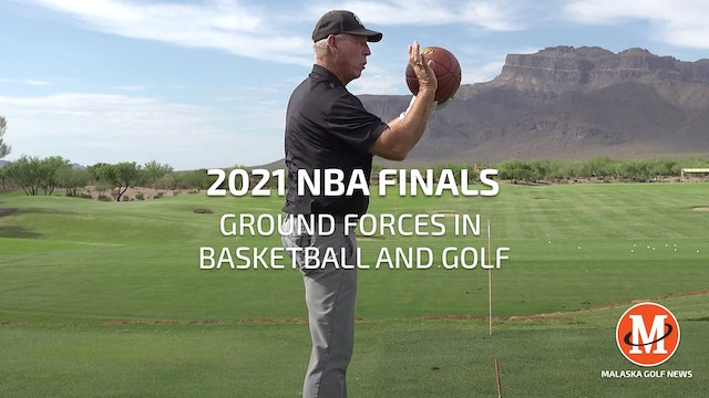 GROUND FORCES IN BASKETBALL AND GOLF