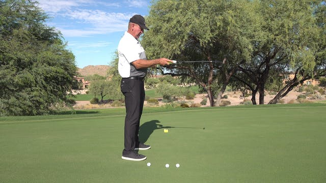 HOW DO YOU SET UP WHEN PUTTING