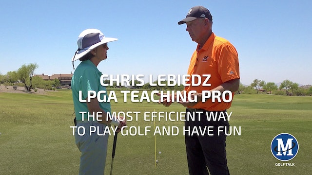 THE MOST EFFICIENT WAY TO PLAY GOLF AND HAVE FUN
