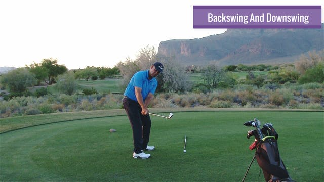 BACKSWING AND DOWNSWING