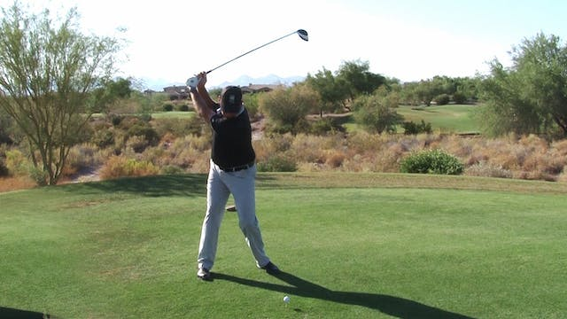 PARALLEL IN THE BACKSWING