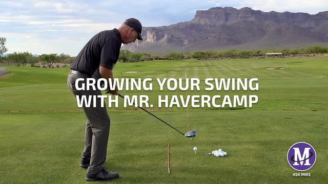 GROWING YOUR SWING