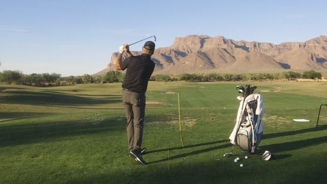 SHOULD YOUR SWING FEEL LEVEL