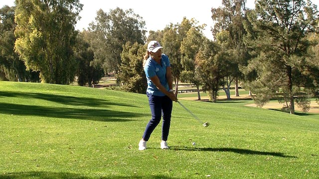 HITTING PITCH SHOTS IN THE HEEL