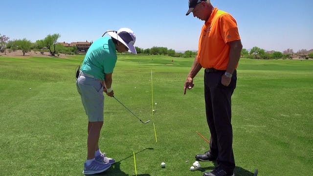 START YOUR SWING WITH YOUR FEET