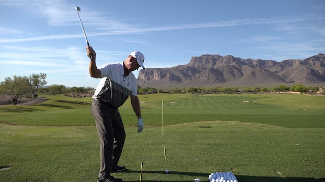 HOW BEING VERTICAL CAN HURT YOUR SWING