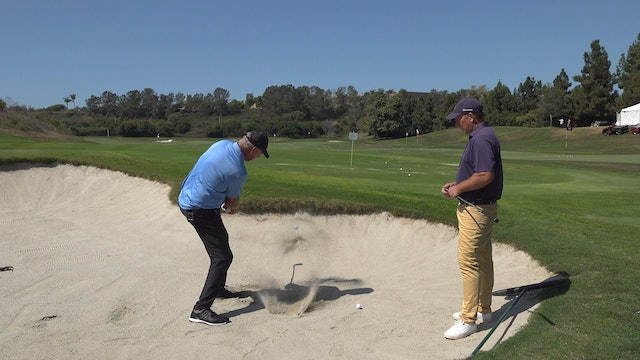FITTING WEDGES FOR OPTIMAL BUNKER PLAY