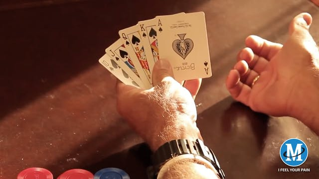 PLAY THE HAND YOU'RE DEALT