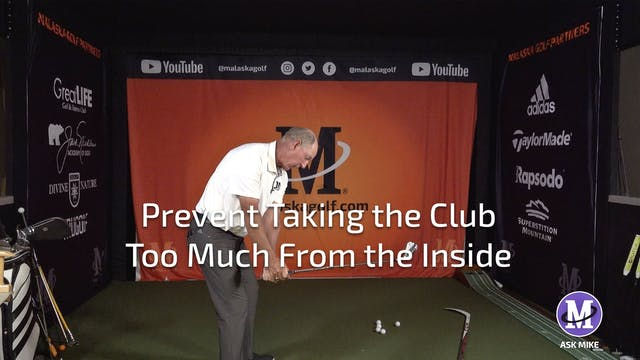 PREVENTING TAKING THE CLUB TOO MUCH F...