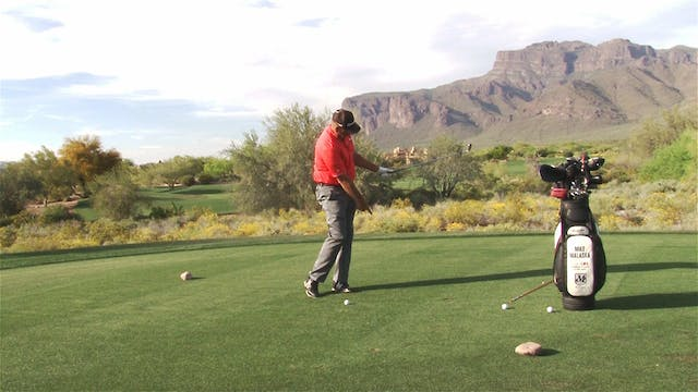 PITCHING AND PIVOTING THE CLUB