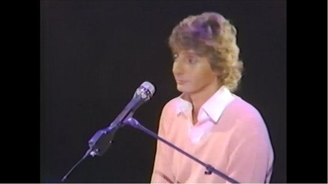The Barry Manilow Concert - Showtime - March 18th, 1982