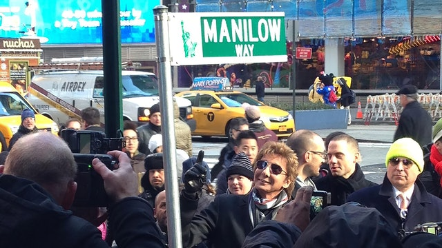 Manilow on Broadway - March 2, 2013 - St. James Theatre - Broadway