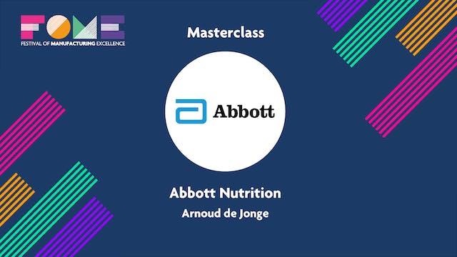 Masterclass - Abbott Nutrition - Arnoud De Jonge