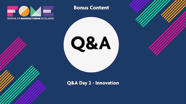 Bonus Content - Q&A Day 2