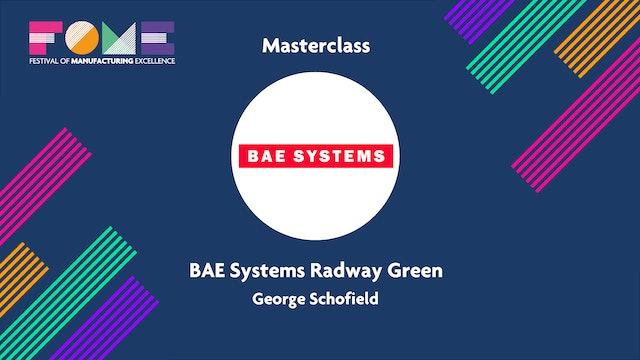 Masterclass - BAE Smart Factory - George Schofield