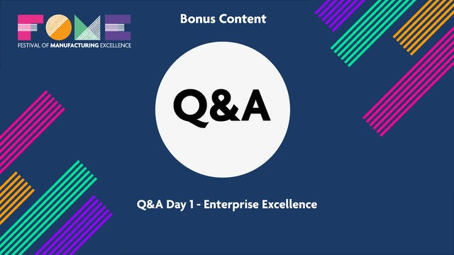 Bonus Content - Q&A Day 1