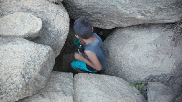 Collecting Water from a Cacimba