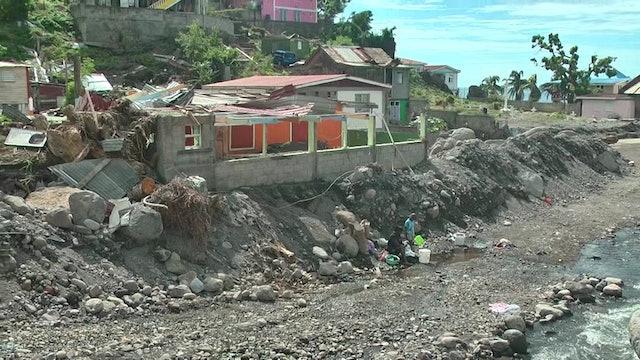 Devastation in Dominica