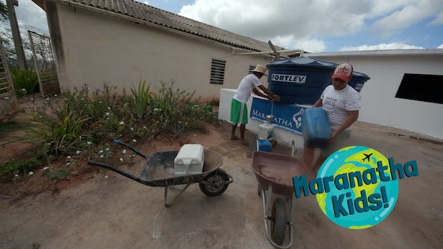 Collecting Water with Romildo