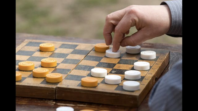 Checkers vs Chess / Esther, September...