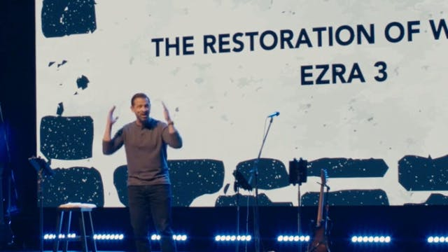 The Restoration of Worship / Ezra 3 /...