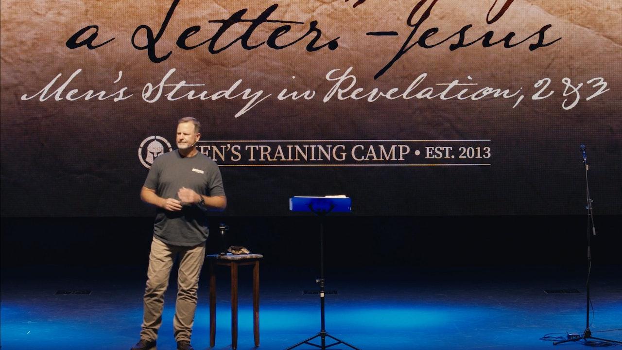 Men's Study / Troy Dewey / I've Written You a Letter / Revelation 2 & 3