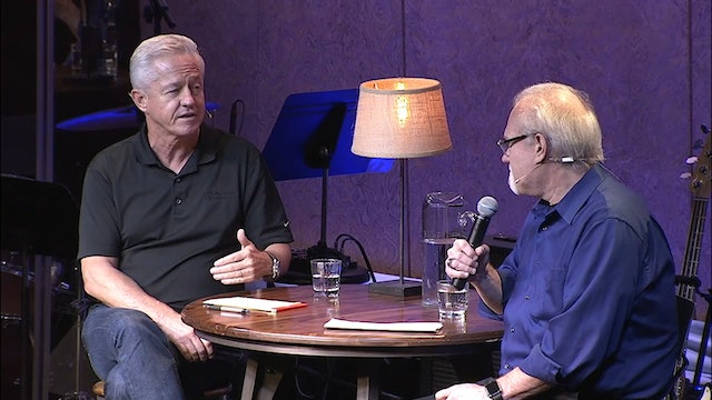 Ray Interviews author Jerry Jenkins with Jerry's Message / 2015