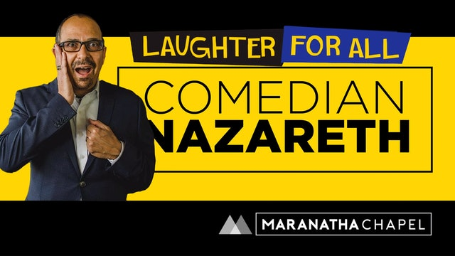 Comedian Nazareth at Maranatha / 2017