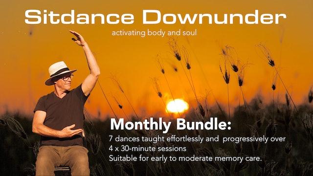 Sitdance Downunder Monthly Bundle