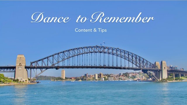 Content & Tips for Dance to Remember.pdf