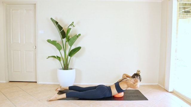 7 Minutes of Back Work with Pilates Ball