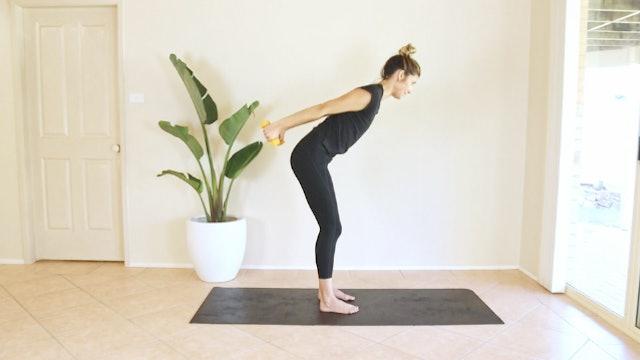 Quick 5 Minute Prenatal Arms - Shoulders, Biceps, Triceps, Back